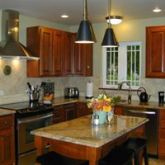 Upscale gourmet kitchen